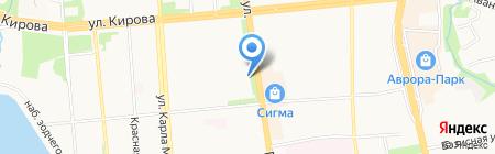 Союз художников Удмуртской Республики на карте Ижевска