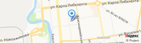 Банкомат АКБ Московский банк реконструкции и развития на карте Ижевска