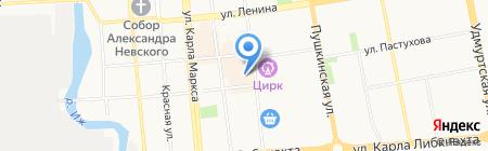 Уникон на карте Ижевска