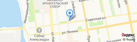 Озорник на карте Ижевска