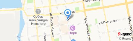 Легко деньги на карте Ижевска