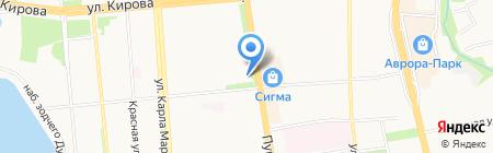 Удмуртская Государственная Филармония на карте Ижевска