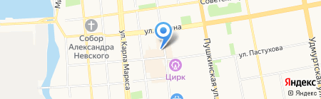 Центр консультационной поддержки РТРС на карте Ижевска