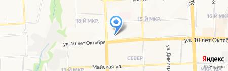 Ekoizh на карте Ижевска