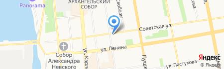 Стандарт на карте Ижевска