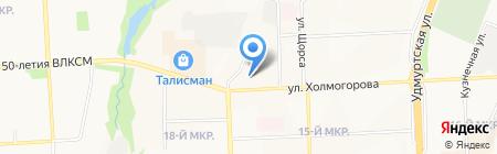 Nicole на карте Ижевска