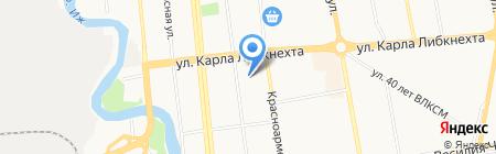 Коммунальщик на карте Ижевска