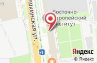 Схема проезда до компании Ижплит в Ижевске