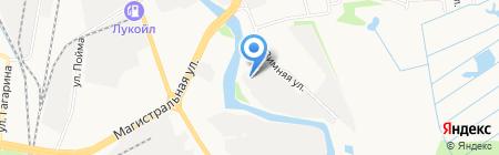 Транзит-Авто на карте Ижевска