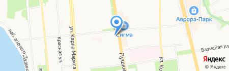 РыбачОК на карте Ижевска