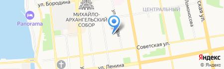 Студия Анастасии Кисловой на карте Ижевска