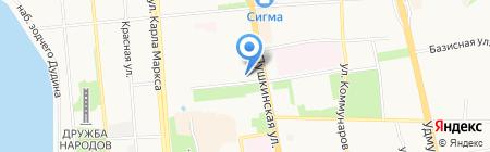 РКС на карте Ижевска