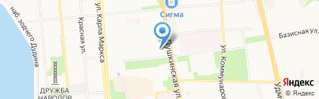 СТС-Ижевск на карте Ижевска
