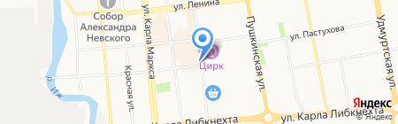 Ижмолоко киоск по продаже молочных продуктов на карте Ижевска
