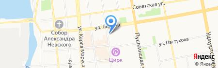 Джинс клуб на карте Ижевска