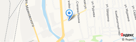 Магистральная на карте Ижевска