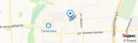 Альфа на карте Ижевска