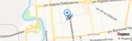 Служба эвакуации автомобилей на карте Ижевска