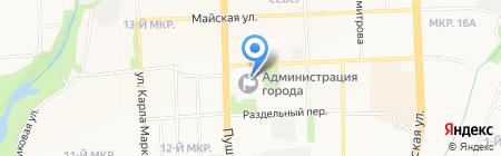 Управление материально-технического обеспечения Администрации г. Ижевска на карте Ижевска