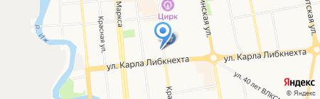 Комфорт-Ритуал на карте Ижевска