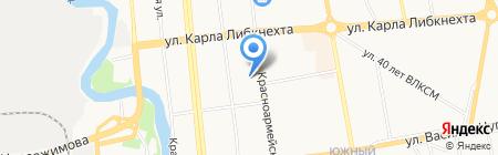 Новый на карте Ижевска