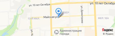 Центр по уходу за животными на карте Ижевска