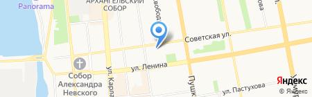 Знак качества на карте Ижевска