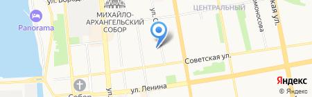 Сеть фирменных магазинов на карте Ижевска