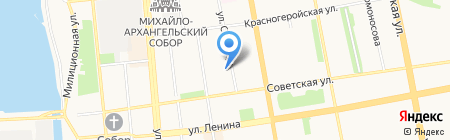 Алан на карте Ижевска