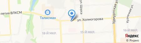 Sabai на карте Ижевска