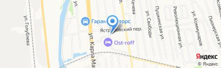 Арфа на карте Ижевска