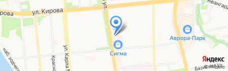 Банкомат МДМ Банк на карте Ижевска