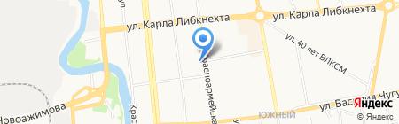 Градопроект на карте Ижевска
