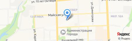 ЖЭУ №3 на карте Ижевска