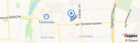 Vetov на карте Ижевска