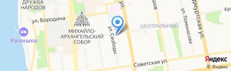 Кенилия на карте Ижевска