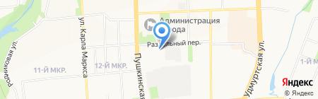 Стоматологический кабинет доктора Вольфа А.Г. на карте Ижевска