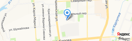 Разумники на карте Ижевска