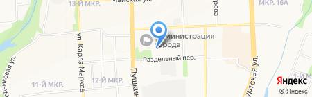 Верховный суд Удмуртской Республики на карте Ижевска