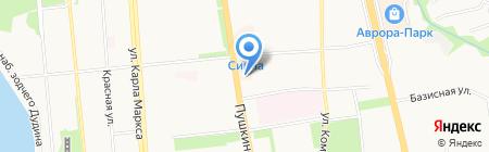 Банк ВТБ 24 на карте Ижевска