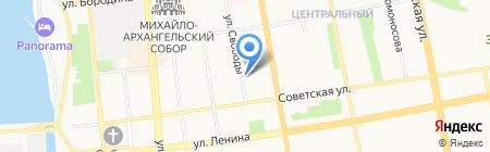 Центр материально-технического и хозяйственного обеспечения на карте Ижевска