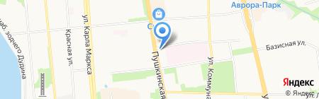 РУСЭКОСТРОЙ на карте Ижевска