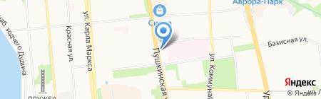 Антиквариат на карте Ижевска