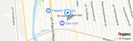 Фабрика Художественных Товаров на карте Ижевска