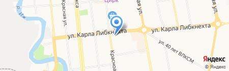 УФК на карте Ижевска