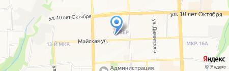 Мама Pizza на карте Ижевска