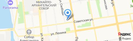 Belwest на карте Ижевска