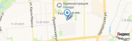Управление Федеральной почтовой связи Удмуртской Республики на карте Ижевска