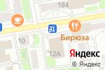 Схема проезда до компании 33 оборота в Ижевске