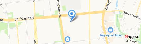 Printingworld на карте Ижевска